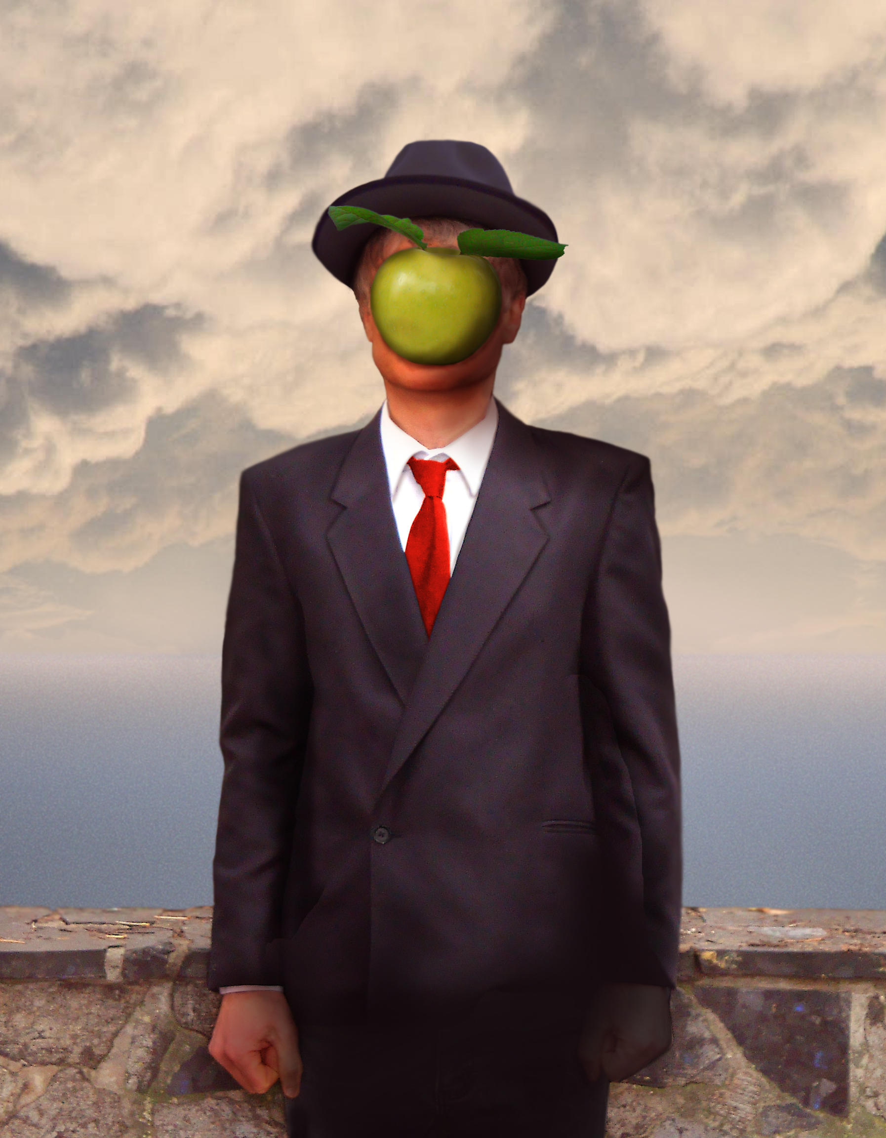 Rene Magritte The Son Of Man Vetting | The Last Bas...