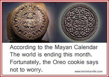 Mayan Oreo Cookie