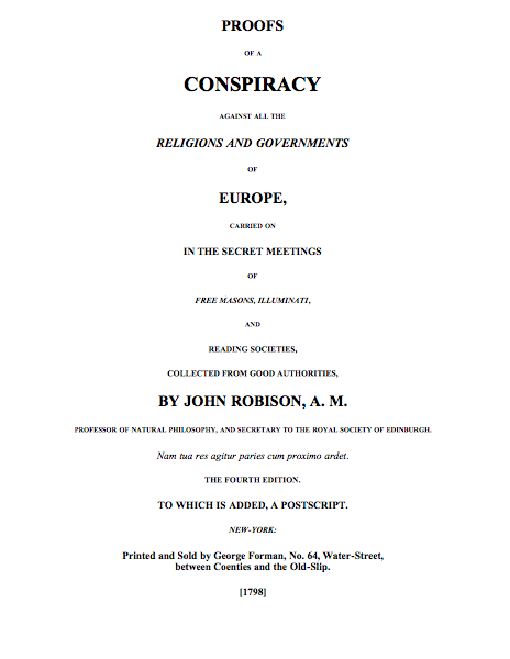 Proofs of a Conspiracy cover