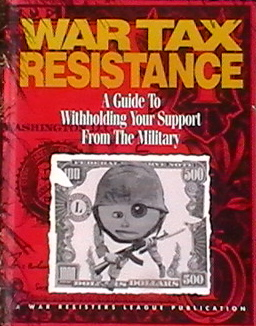 War Tax Resistance book cover