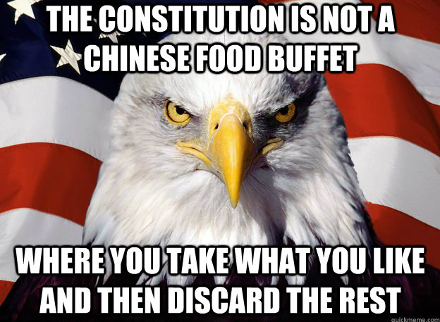 Constitution - Chinese Food Buffet