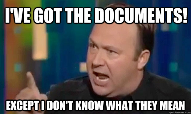 I've Got the Documents!