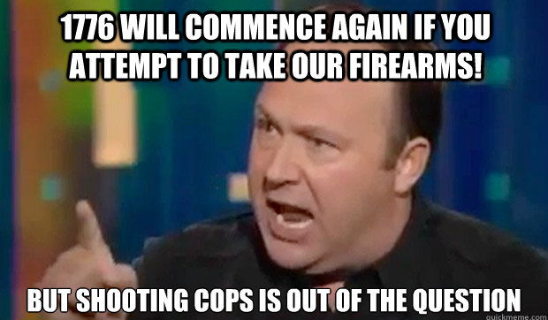 Shooting Cops