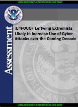 Leftwing Extremism report cover page
