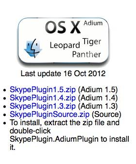 Skype API plugin