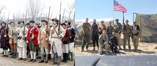Militia - Then & Now