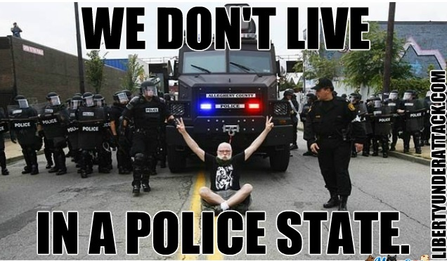 We Don't Live in a Police State